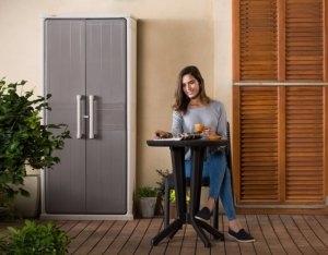 balkonschrank gartenschrank top 2018 jetzt ansehen. Black Bedroom Furniture Sets. Home Design Ideas