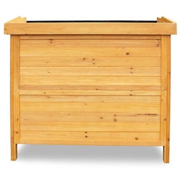 Balkonschrank mit Unterschrank Holz