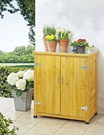 Kleiner Balkonschrank Holz