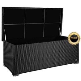 Premium Balkonauflagebox Rattan